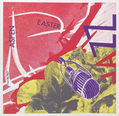 James Rosenquist (American, b. 1933), Aspen Easter Jazz, 1967, screenprint