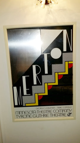 "Roy Lichtenstein (American, 1923-1997), ""Merton of the Movies"" 1968, screenprint in colors on silver foil (Corlett 61)"