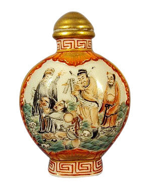 Chinese Painted and Enameled Snuff Bottle