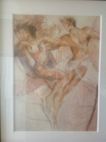 "Gary Benfield (British, b.1965), ""Dance I"", an original limited edition serigraph"