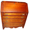 American Cherry and Tiger Maple Slant Front Desk