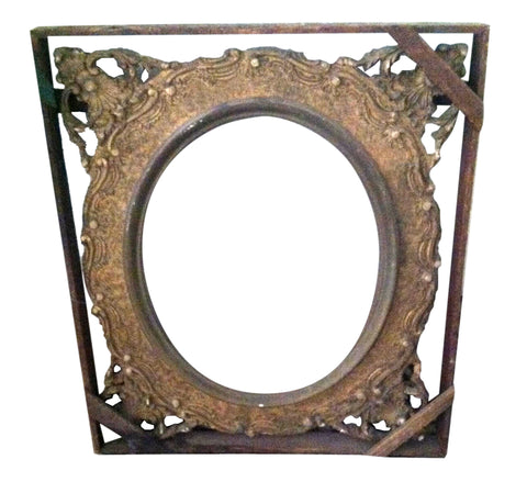 Victorian Carved and Gilt Wood Frame