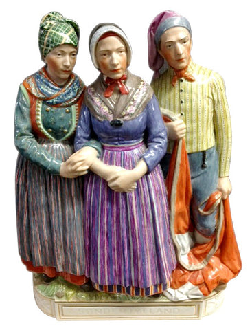 Royal Copenhagen Porcelain Figural Group