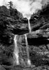 Michael Johnson (American, b. 1949), Waterfall, a silver gelatin photograph, signed, numbered and dated 1987