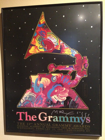 Peter Max (German/American, b. 1937), Poster, signed, ca. 1991