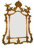 English Chippendale Style Giltwood Mirror