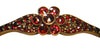 Continental Garnet Bangle Bracelet, ca. 1900