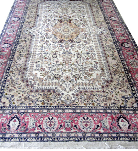 Indian Wool and Cotton Rug