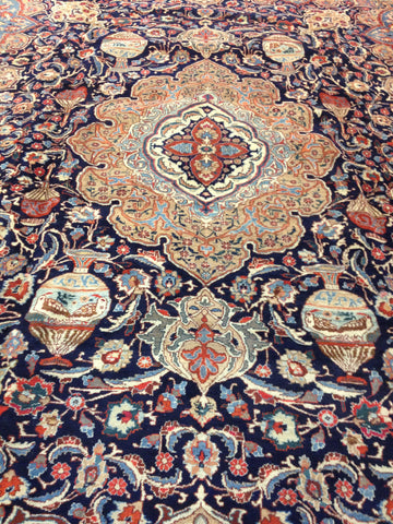Persian Tabriz Rug, Northwest Iran, mid 20th century