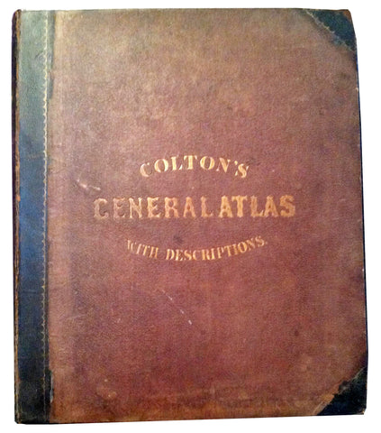 """Colton's General Atlas With Descriptions"""