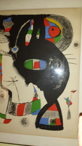 "Joan Miró (Spanish,1893-1983), ""42 Rue Blomet"" (Mourlot 1123), lithograph in colors, 1977, signed and numbered"