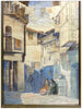 Carl Von Hassler (German, 1887-1969), Street Scene In Mogarraz, Spain, tempera, signed and dated 1919