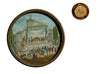 French Revolutionary Miniature Medallion Painting