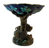 George Jones Majolica Figural Compote