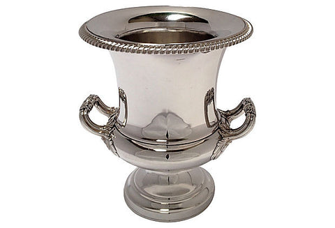 Sheffield Plated Two-Handled Wine Cooler