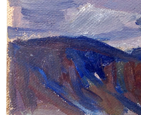 George Cherepov (American, 1909-1987), Seascape, oil on canvas board, signed, ca. 1970s