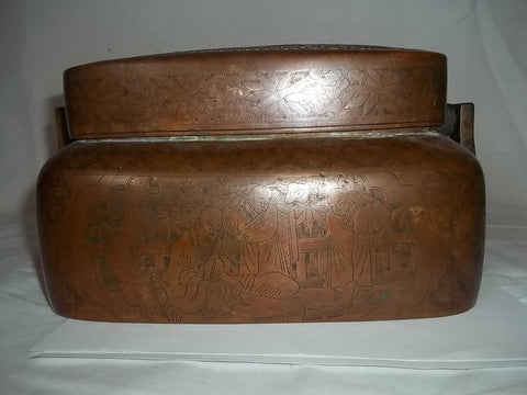 Chinese Bronze Hand Warmer, 19th century