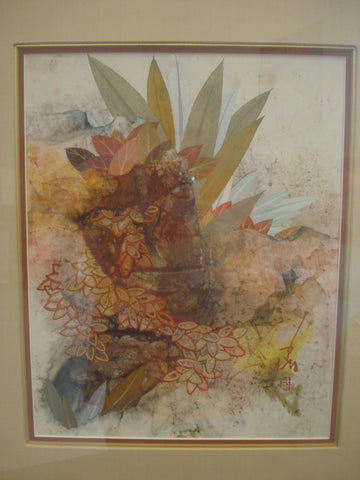 "Pang Tseng Ying (Chinese/American, 1916-1997), ""Flight"", watercolor, signed, 1988"