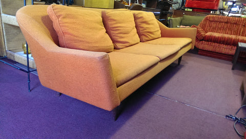 American Mid-Century Modern Three-Seat Sofa, Jens Risom Design, Inc., New York, USA, 1961, Model #2516