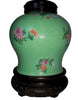 Chinese Enamel Glazed Porcelain Ginger Jar