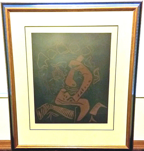 Pablo Picasso (Spanish, 1881-1973 ), Le Danseur, linocut on arches paper, signed and numbered 119/200, 1965