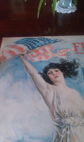 "American World War I Third Liberty Loan Poster, Howard Chandler Christy (1872-1952), ""Fight or Buy Bonds"", lithograph, 1917"