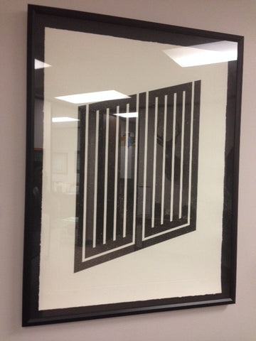 "Donald Judd (American, 1928-1994), ""Untitled 1978-1979"" (Schellmann 101), aquatint, 1978-1979, signed and numbered"