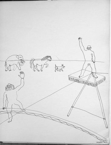 After Alexander Calder (American, 1898-1976), Calder's Circus (New York: Art in America, 1964), essay by Miro