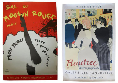 Pair of Mid-Century French Posters