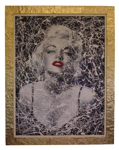 Daniele Donde (Italian, b. 1950), Marilyn Monroe, oil on canvas, signed