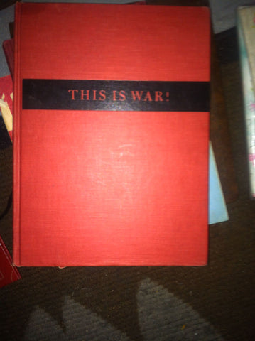 """This is War!"", David Douglas Duncan, 1st edition, Harpers and Brothers, 1951"