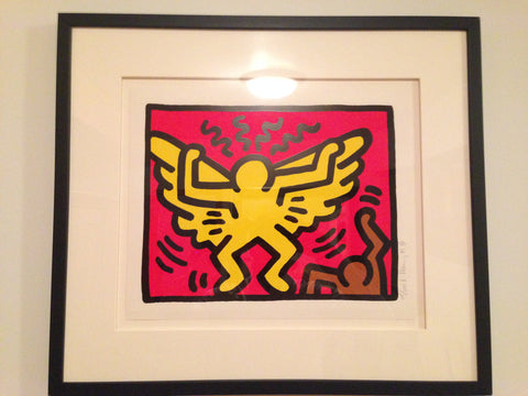Keith Haring (American, 1958-1990), Pop Shop IV (1), 1989, screenprint in colors, signed, dated and numbered