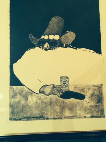 Fritz Scholder (American, 1937-2005), Indians Forever, 1970-71, suite of 8 lithographs, edition 50/75