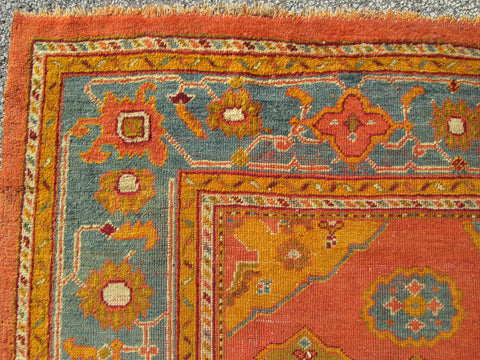 Square Oushak Rug, Western Anatolia, first quarter 20th century