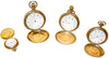 Four Yellow Gold Pocket Watches