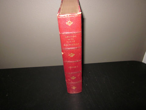 """Court Memoirs of Europe"", Katherine Wormeley (transalator) 1899-1902, 18 volumes, Versailles Aquarelle Edition, number 33 of 85"