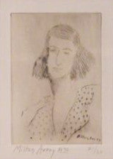 Milton Avery (American, 1885-1965), Rosalie (Lunn 17), drypoint, 1939, signed and dated in pencil, numbered 31/60