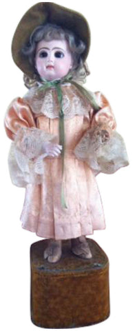 French Automaton Mechanical Doll with Baton