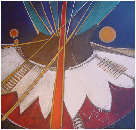 Kevin Red Star (Native American, b. 1943)