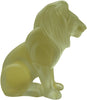 French Frosted Glass Lion