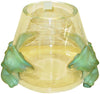 "French Cut Glass ""Antinea"" Vase"