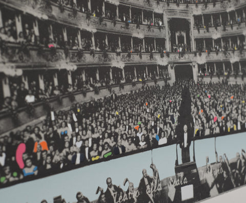 Richard Hamilton (British, 1922-2011), La Scala Milano, photoetching and screenprint, 1968, signed and numbered 16/65