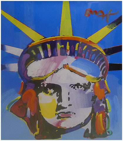 Peter Max (American/German b. 1937)