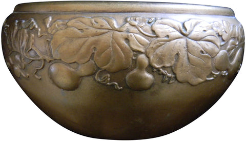 Japanese Cast Patinated Bronze Small Bowl