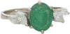 H. Stern 18K White Gold, Emerald, and Diamond Ring
