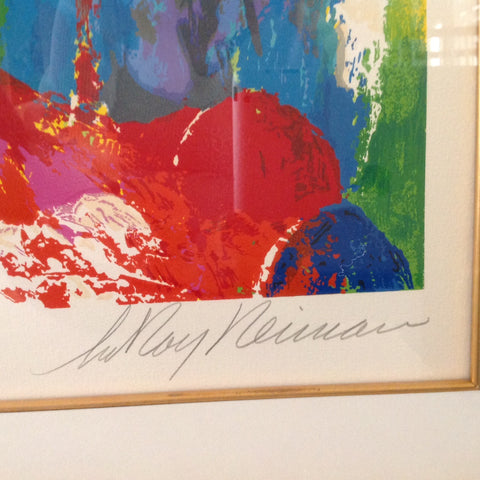 "LeRoy Neiman (American, 1927-2012), ""Mystic Rock"", 1996, screenprint, signed, numbered ""167/250"""