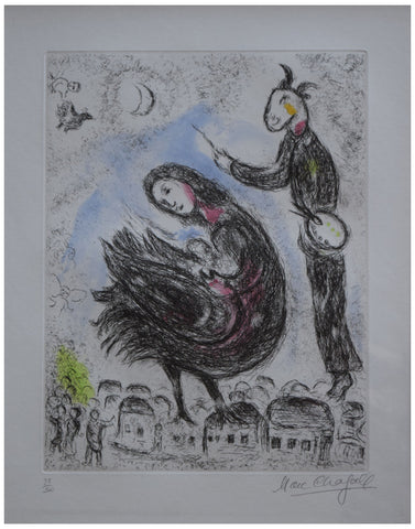 Marc Chagall (French/Belorussian, 1887-1985)