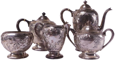 American Silver Five Piece Tea and Coffee Service