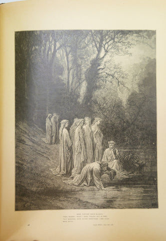 """DorŽé Dante"", Three Books in Six Volumes, written by Dante Alighieri, illustrated by M Gustave DoréŽ, 1904, no. 861/1000"