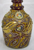 Polychrome Enameled and Gilded Glass Large Decanter, probably Bohemian/Czech, last quarter 19th century